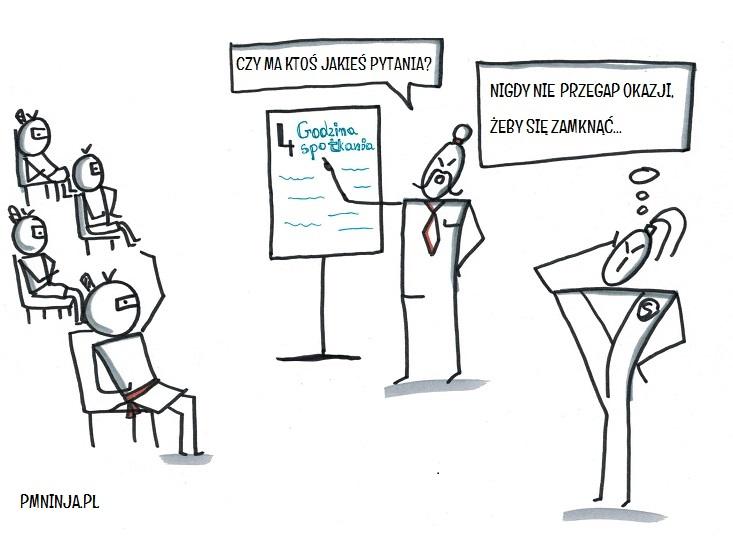 3. Jak uwolnić się od zmory bezsensownych spotkań statusowych?
